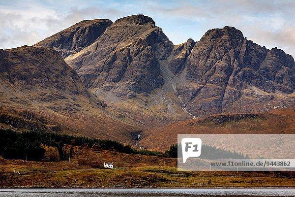 Berg Isle of Skye Schottland