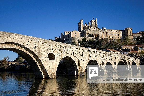 Fluss Beziers Südfrankreich