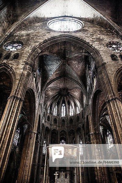 Kathedrale Ansicht Gotik Girona