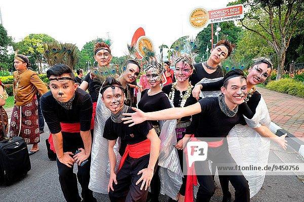 Tag Großstadt Kuching Parade