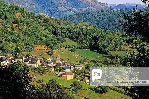 nahe Frankreich Europa Dorf Weiler