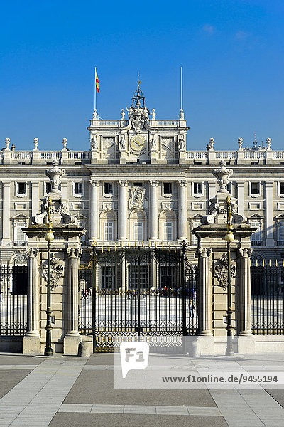 Palacio Real  Madrid  Spanien  Europa