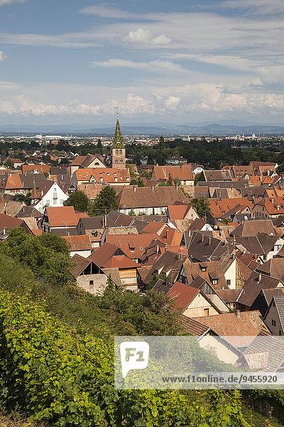 Ortsansicht  Turckheim  Elsass  Frankreich  Europa