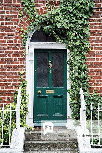 Dublin Hauptstadt Tür Irland Leinster
