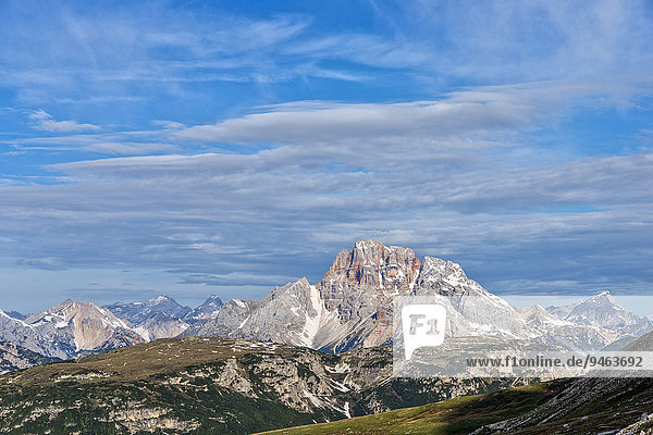 Hohe Gaisl  Dolomiten  Provinz Südtirol  Italien  Europa