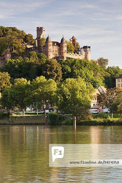Burg Wertheim am Main  Wertheim  Baden-Württemberg  Deutschland  Europa