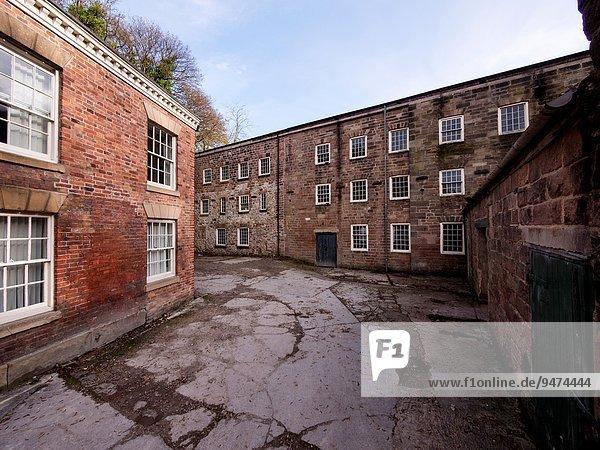 Erde Fabrikgebäude Derbyshire