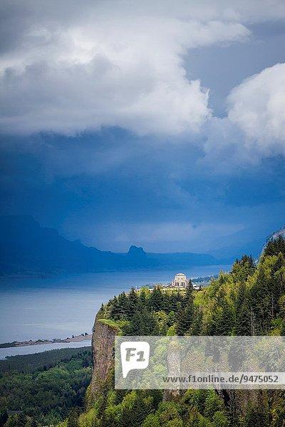 Vereinigte Staaten von Amerika USA Fluss Ansicht Schlucht Oregon