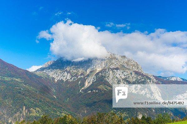 Europa Alpen Nationalpark Triglav Slowenien