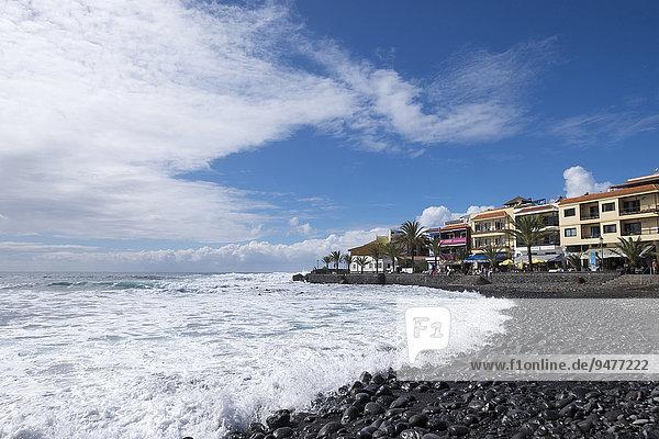 Strand  La Playa  Valle Gran Rey  La Gomera  Kanarische Inseln  Spanien  Europa