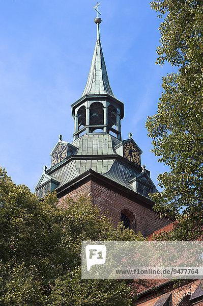 Turm  St. Michaelis  Lüneburg  Niedersachen  Deutschland  Europa