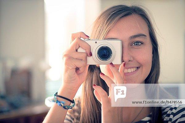 Fröhlichkeit Fotografie nehmen lächeln