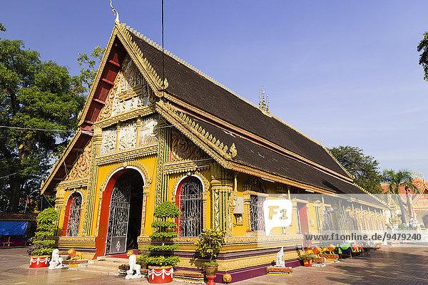 Wat Si Muang  Vientiane  Präfektur Vientiane  Laos  Asien