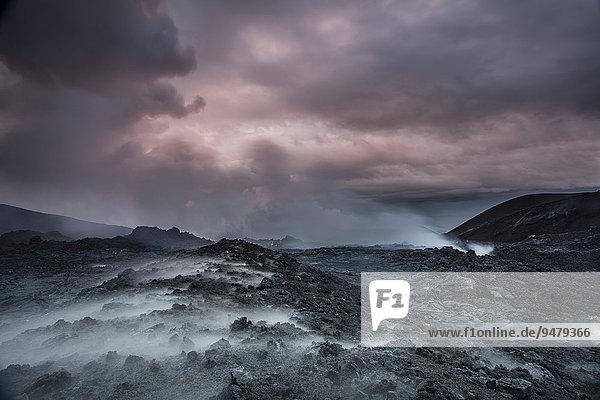 Vulkan Tolbachik  Kamschatka  Russland  Europa