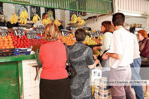 Frische Lebensmittel Frucht Cadiz Markt