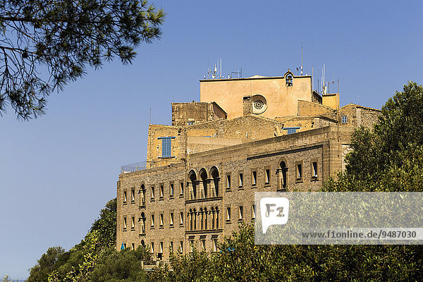 Ermita de Sant Salvador  near Felanitx  Majorca  Balearic Islands  Spain  Europe