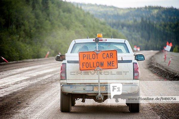 Auto fahren Pilot Alaska