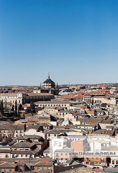 Cityscape  Toledo  Spain.