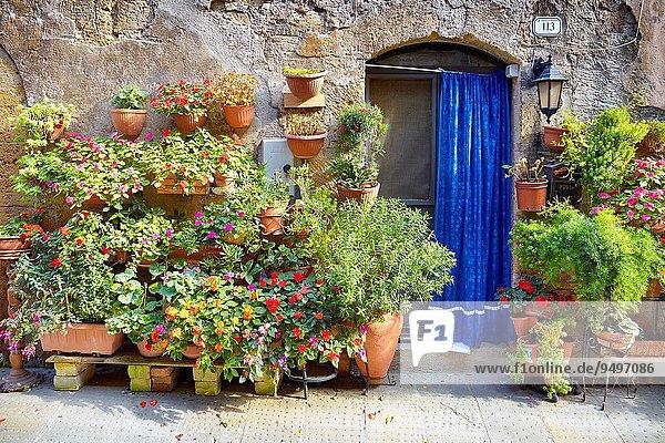 Italien Pitigliano Toskana