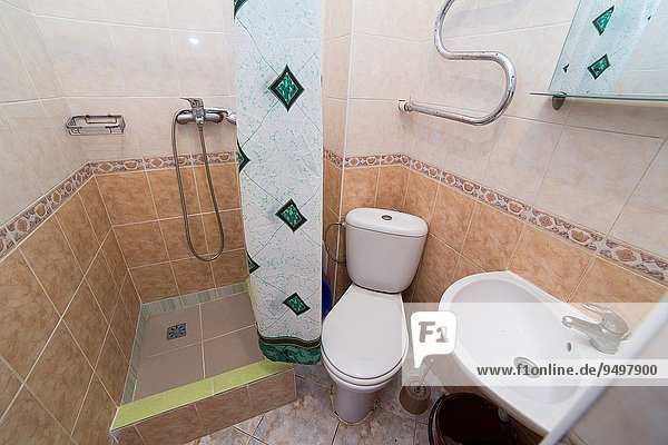 Bathroom  WC  toilet  lavatory room interior design.