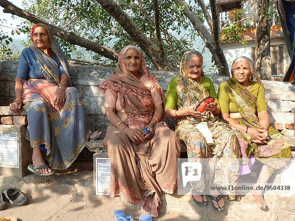 Frau Indien alt