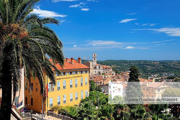 Frankreich Großstadt Provence - Alpes-Cote d Azur Region In Nordamerika Alpes maritimes Grasse