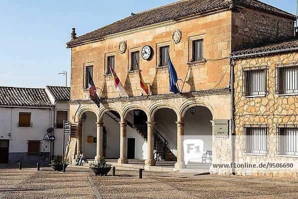 Rathaus Cuenca Provinz Spanien Stadthalle