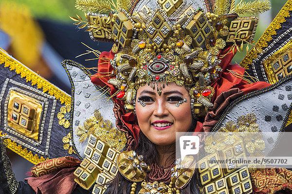 Jember Fashion Festival und Karneval  Jawa Timur  Java  Indonesien  Asien