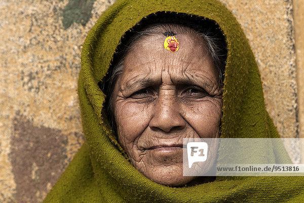 Nepalesin  Bandipur  Nepal  Asien