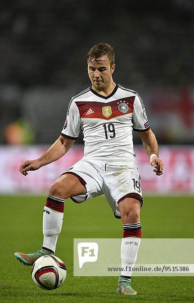 Mario Götze am Ball  Grundig Stadion  Nürnberg  Bayern  Deutschland  Europa