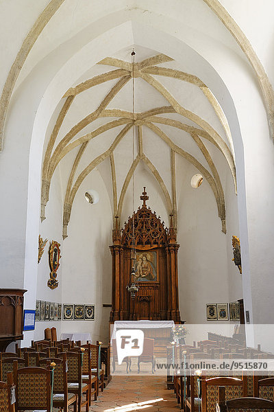 Burgkapelle  Burg Güssing  Südburgenland  Burgenland  Österreich  Europa