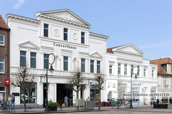 Concerthaus Jever  früheres Gesellschafthaus und Filmtheater  Jever  Friesland  Niedersachsen  Deutschland  Europa