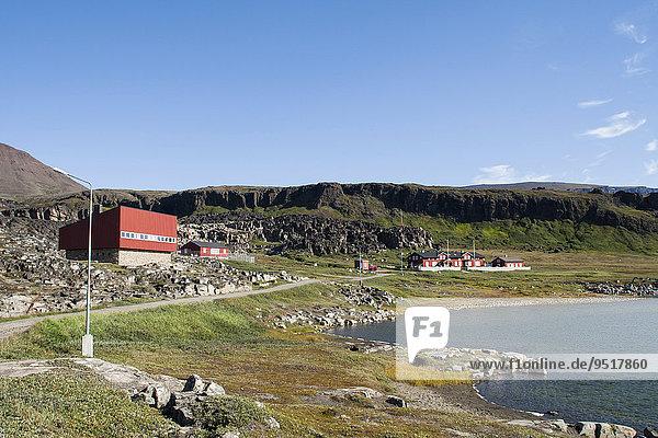Arktisk Station  arktische Forschungsstation  Qeqertarsuaq  Grönland