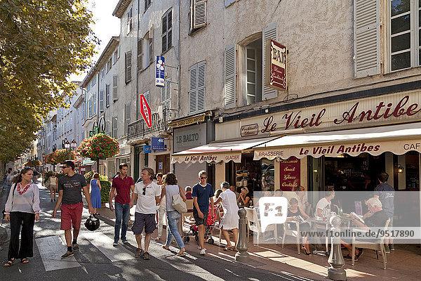 Altstadt  Antibes  Cote d'Azur  Frankreich  Europa