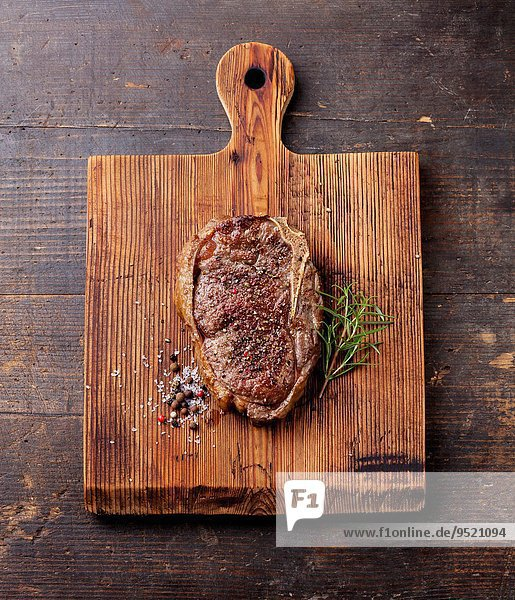 Dunkelheit Würze Steak Rindfleisch Rind gegrillt