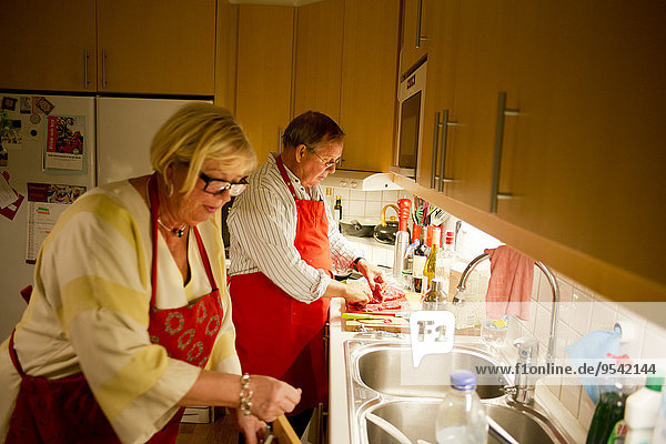 Senior Senioren Küche