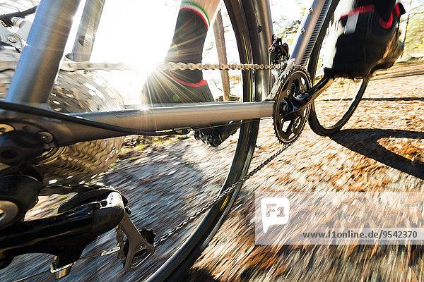 Close-up Fahrrad Rad