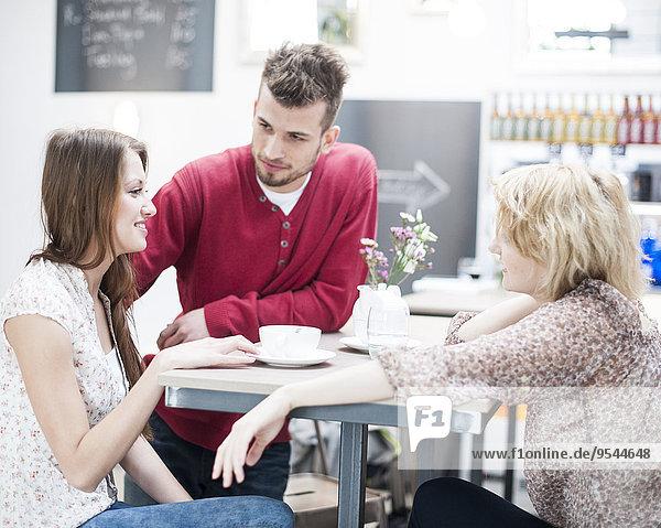 Freundschaft Cafe jung Kaffee