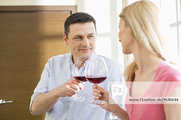Küche Rotwein
