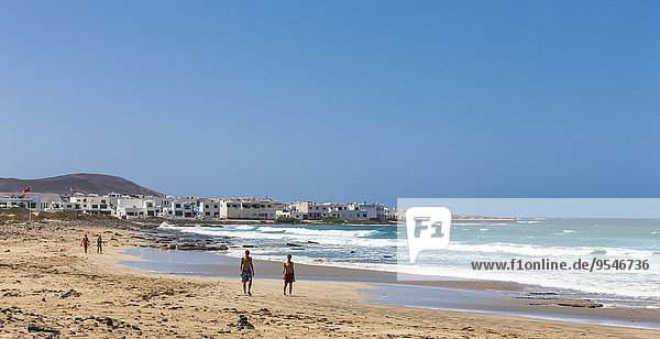 Spanien  Kanarische Inseln  Lanzarote  Los Valles  Playa de Famara