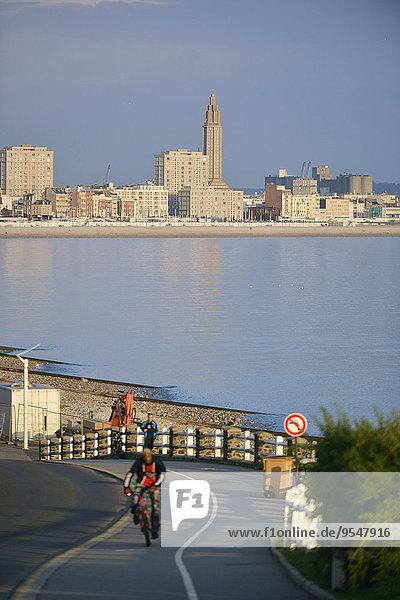 Großstadt Ansicht Normandie