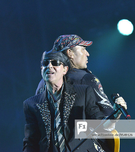 Scorpions music band in concert (2014/09/13)