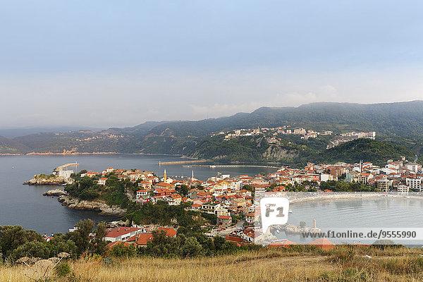 Türkei  Schwarzes Meer  Stadtbild von Amasra