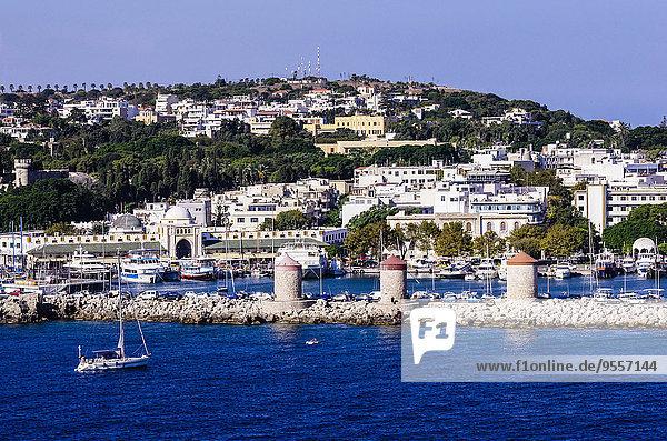 Griechenland  Ägäische Inseln  Rhodos