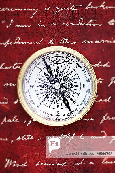 Kompass Handschrift