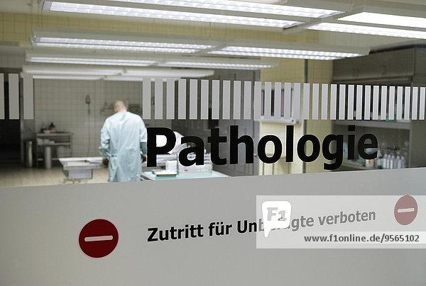Krankenhausschild  Kein unbefugter Zutritt