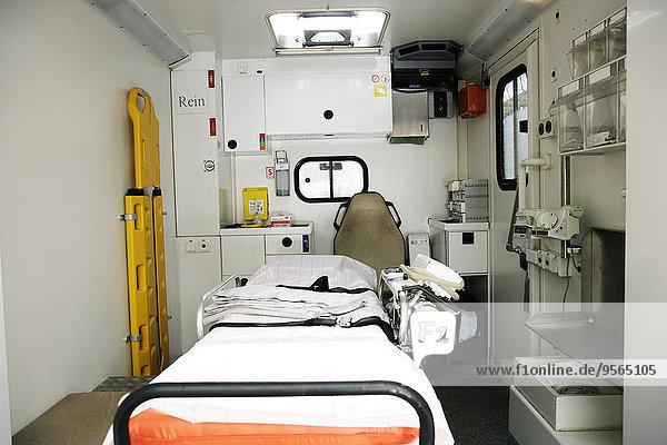 leer,Bahre,Tragen,Krankenwagen