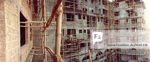 Baustelle  Goa  Indien