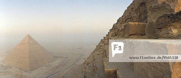Pyramiden  Kairo  Ägypten