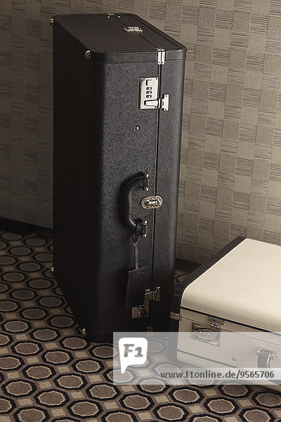 Gepäckkoffer im Zimmer